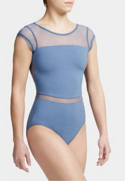 MC820W Cap Sleeve Leotard